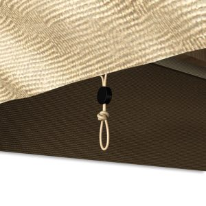 Bench Cover Cinch Detail