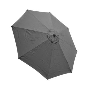ExpectSaving 9' 8 Rib Umbrella Replacement Canopy