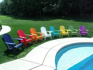 Furniture Barn USA Poly Adirondack Chairs