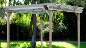 GardenCraft Redwood Pergola 10' x 12'