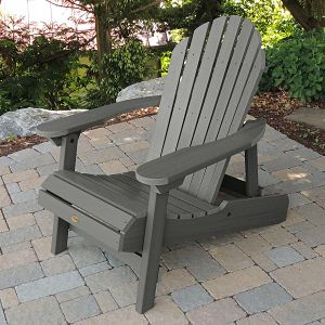 Highwood Hamilton Adirondack Chair in Costal Teak
