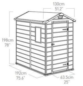 Keter Manor Dimensions