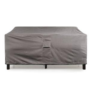 KHOMO GEAR - TITAN Series - Waterproof Heavy Duty Outdoor Lounge Loveseat Sofa Patio Cover (XL 104'' x 32.5''x 33'', Grey)