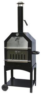 La Hacienda 56107US Steel Construction Pizza Oven and Smoker