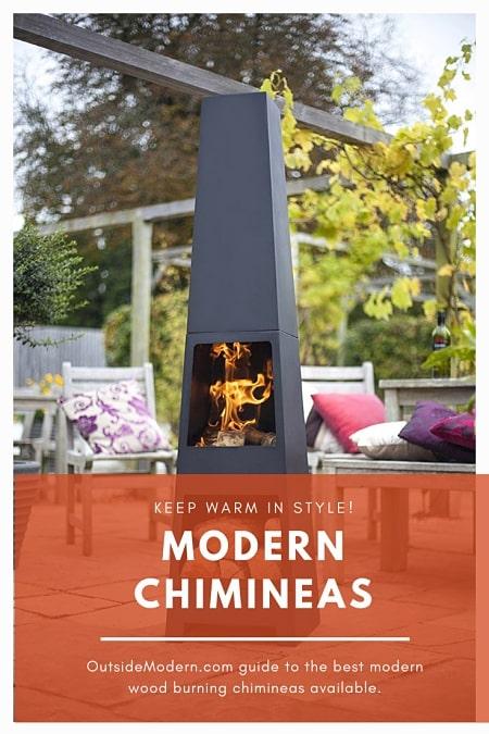 Modern Chimineas