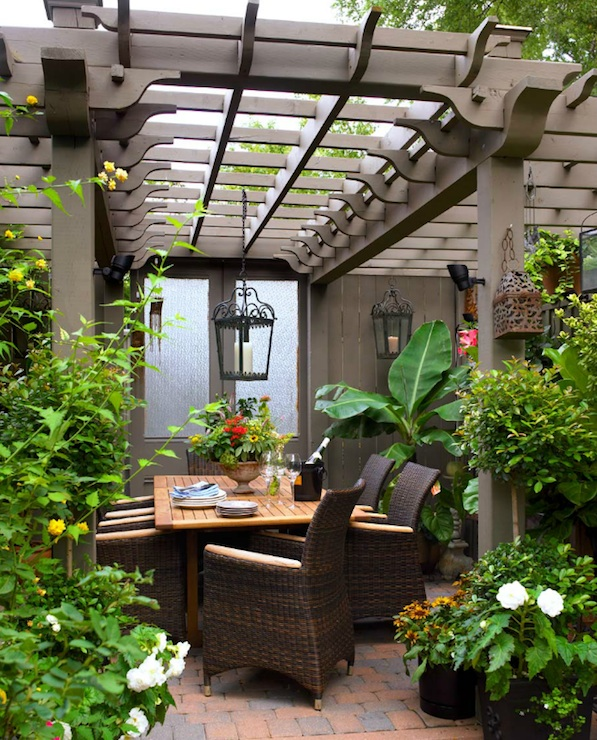 Patio Pergola And Deck Lighting Ideas And Pictures: Pergola Lights! Eight Easy Pergola Lighting Ideas