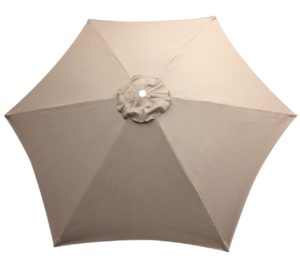 Replacement Top 8 6 Rib Umbrella Canvas