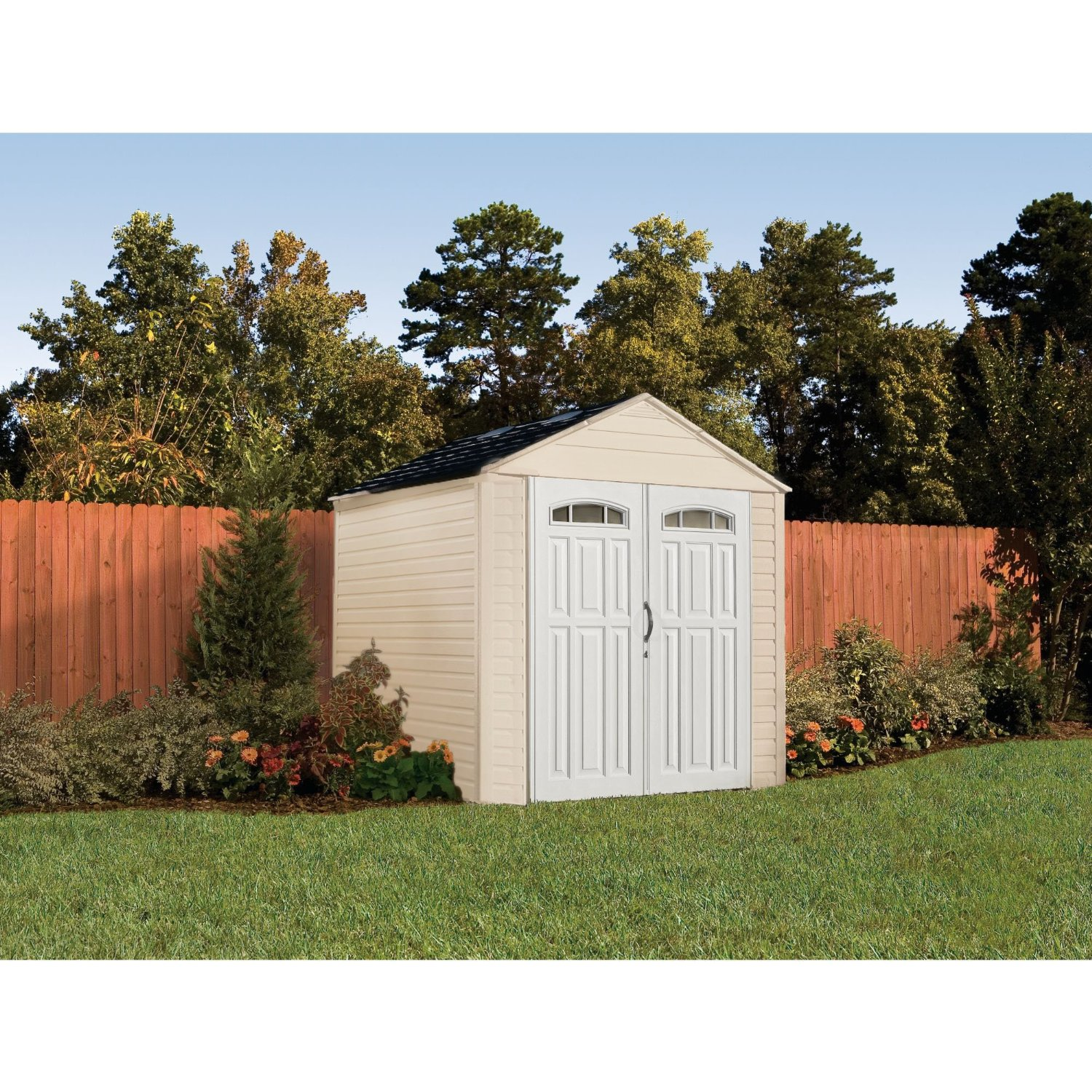 roughneck garden cubic gable dp ca sheds ft shed storage horizontal amazon patio lawn rubbermaid