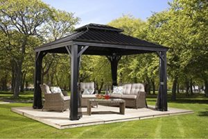 Metal Gazebo Kits 5 of the Best Hard Top Gazebo Kits OutsideModern