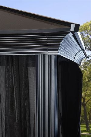 Sojag Sedona Roof, one of the Best Metal Gazebo Kits available!