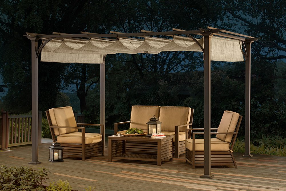 Aluminum Pergola Kits Steel Pergola Kits The Best Metal