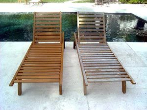 Teak Furniture Refinish Source: MarineSupply.com