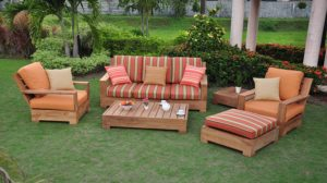 Teak Furniture Set Ready for The Best Teak Sealer!
