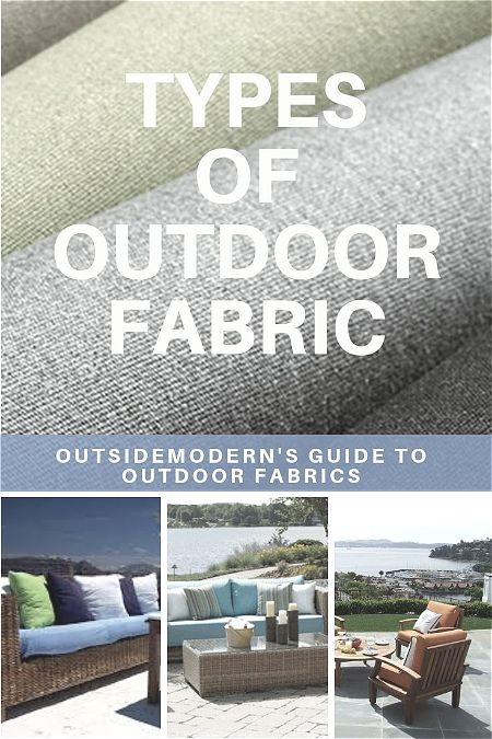 Types of Outdoor Fabric