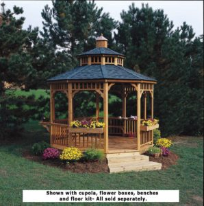 Wooden Gazebo Kits Are The Perfect Outdoor Rooms