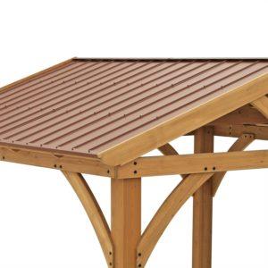 Yardistry 12'x10.5' Pavilion Roof Detail
