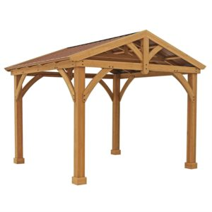 A Cedar Back Yard Pavilion