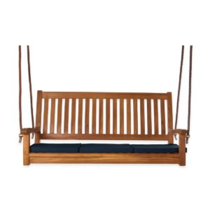 Teak Swing with Cushions by All Things Cedar