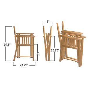 Barbuda Chair Dimensions
