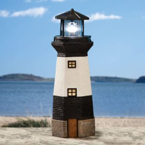 Bits and Pieces - Solar Lighthouse Outdoor Sculpture