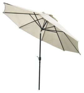 Coolaroo 11u0027 Tilting Patio Umbrella