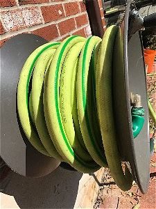 Flexzilla Garden Hose on an Eley Rapid Reel