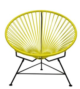 Innit Designs Innit Chair Yellow Weave