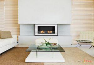 Moda Flame Lugo Wall Mounted Chimneyless Fireplace