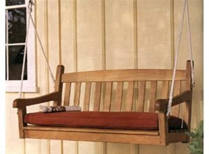 #3. Wholesale Teak Porch Swing Chair 4.5' (Sunbrella cushion sold separately)