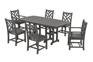 Resin Plastic Dining Set by Polywood