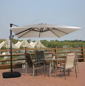 Rectangular Cantilever Umbrella by Domi Outdoor Living