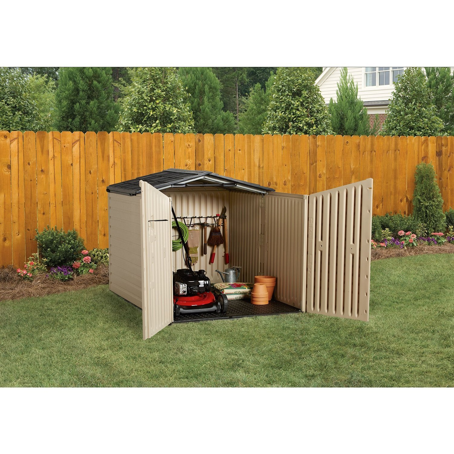 pent ideas garden sheds shed x themiracle biz rubbermaid uk gable designs overlap door winchester storage roughneck
