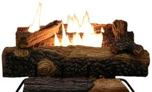 Sure Heat Mount Vernon Oak Vent Free Fireplace