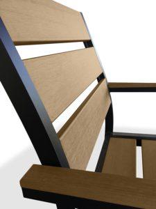 UrbanFurnishing Poly Wood Chair Detail