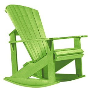 cr plastic generations recycled plastic adirondack rocking chair - Adirondack Rocking Chair
