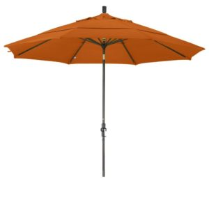 California Umbrella 11' Double Wind Vent Market Umbrella