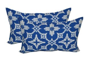 Resort Spa Home Decor Outdoor Sunbrella Lumbar Pillows