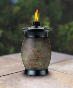 TIKI Brand 64-inch Resin Jar Torch Tabletop