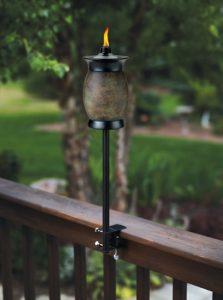 TIKI Brand 64-inch Resin Jar Torch 4-in-1