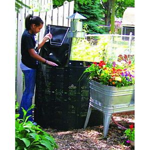 Geobin Compost Bin Expanded to Full Capacity
