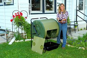 Mantis Composter Creating Material