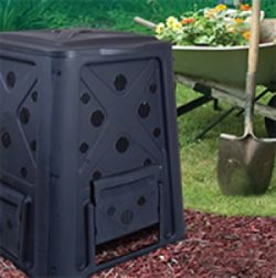 Ground-Based Compost Bin by Redmon