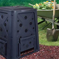 Redmon Black Compost Bin