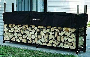 Woodhaven 8 ft Log Rack