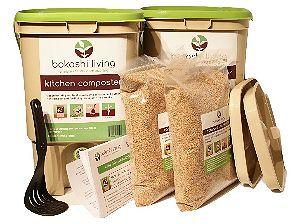 Bokashi Living Bokashi Bucket Kit, our favorite Starter Kit
