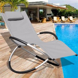 Sundale Outdoor Orbital Chaise Lounge · Sundale Zero Gravity Chair Gray