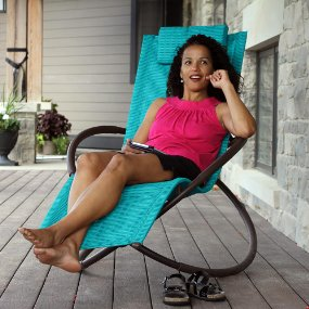 Vivere Orbit Chaise Lounger