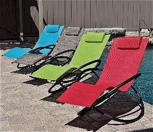 Vivere Zero Gravity Chaise Lounge Color Selection
