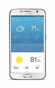 Weather Data Screen