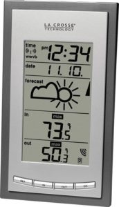 La Crosse Wireless Weather Station Main Panel